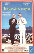 Dirty Rotten Scoundrels - Finnish VHS movie cover (xs thumbnail)