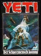 Yeti - il gigante del 20. secolo - German Movie Poster (xs thumbnail)