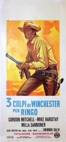 3 colpi di Winchester per Ringo - Italian Movie Poster (xs thumbnail)
