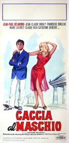 La chasse à l'homme - Italian Movie Poster (xs thumbnail)