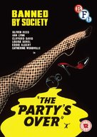 The Party's Over - British DVD movie cover (xs thumbnail)