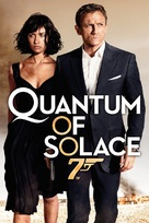 Quantum of Solace - DVD cover (xs thumbnail)