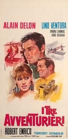 Les aventuriers - Italian Movie Poster (xs thumbnail)