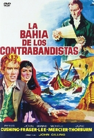 Fury at Smugglers' Bay - Spanish Movie Cover (xs thumbnail)
