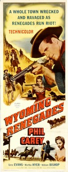 Wyoming Renegades - Movie Poster (xs thumbnail)