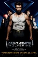 X-Men Origins: Wolverine - Danish Movie Poster (xs thumbnail)