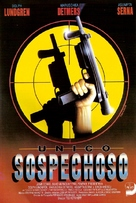The Shooter - Spanish VHS movie cover (xs thumbnail)