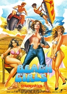 The Beach Girls - German Movie Poster (xs thumbnail)