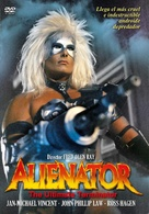 Alienator - Spanish Movie Cover (xs thumbnail)