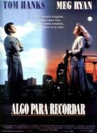 Sleepless In Seattle - Spanish Movie Poster (xs thumbnail)