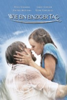The Notebook - German Movie Cover (xs thumbnail)