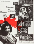 Blood of the Vampire - French Re-release movie poster (xs thumbnail)