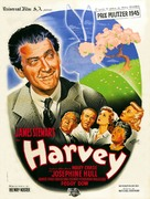 Harvey - French Movie Poster (xs thumbnail)