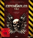 The Expendables - German Blu-Ray cover (xs thumbnail)