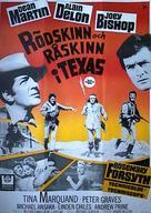 Texas Across the River - Swedish Movie Poster (xs thumbnail)