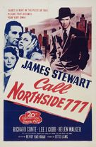 Call Northside 777 - Re-release movie poster (xs thumbnail)
