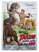 Tarzan and the Valley of Gold - Italian Movie Poster (xs thumbnail)