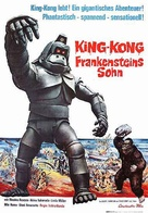 Kingu Kongu no gyakushû - German Movie Poster (xs thumbnail)