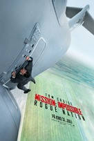 Mission: Impossible - Rogue Nation - Norwegian Movie Poster (xs thumbnail)