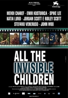 All the Invisible Children - Italian Movie Poster (xs thumbnail)