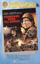 The Bridge at Remagen - Finnish VHS cover (xs thumbnail)