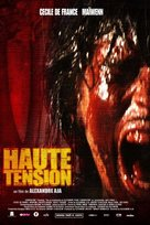 Haute tension - French Movie Poster (xs thumbnail)