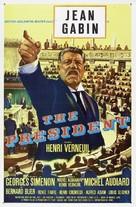 Le président - Movie Poster (xs thumbnail)