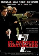 Lucky Number Slevin - Uruguayan Movie Poster (xs thumbnail)