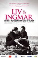 Liv & Ingmar - French Movie Poster (xs thumbnail)
