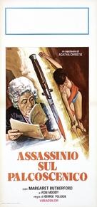 Murder Most Foul - Italian Movie Poster (xs thumbnail)