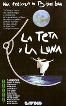 La teta y la luna - Argentinian VHS movie cover (xs thumbnail)