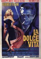 La dolce vita - Italian Movie Poster (xs thumbnail)