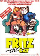 Fritz the Cat - German Movie Poster (xs thumbnail)