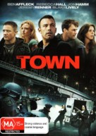 The Town - Australian DVD cover (xs thumbnail)