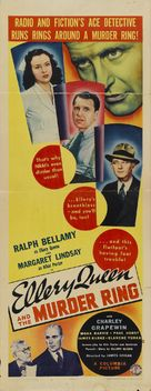 Ellery Queen and the Murder Ring - Movie Poster (xs thumbnail)