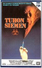 Warning Sign - Finnish VHS movie cover (xs thumbnail)