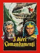 The Ten Commandments - Italian Movie Poster (xs thumbnail)