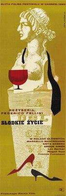 La dolce vita - Polish Movie Poster (xs thumbnail)