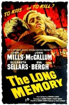 The Long Memory - British Movie Poster (xs thumbnail)