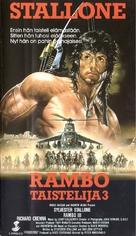 Rambo III - Finnish Movie Cover (xs thumbnail)