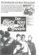 La guerre des boutons - German poster (xs thumbnail)