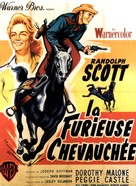 Tall Man Riding - French Movie Poster (xs thumbnail)