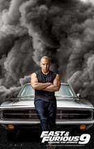 Fast & Furious 9 - Greek Movie Poster (xs thumbnail)
