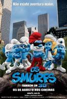 The Smurfs - Brazilian Movie Poster (xs thumbnail)