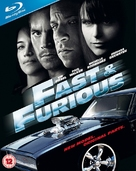 Fast & Furious - British Blu-Ray cover (xs thumbnail)