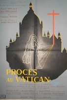 Procès au Vatican - French Movie Poster (xs thumbnail)