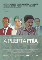 A puerta fría - Spanish Movie Poster (xs thumbnail)