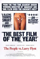 The People Vs Larry Flynt - Movie Poster (xs thumbnail)