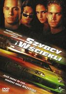 The Fast and the Furious - Polish DVD cover (xs thumbnail)