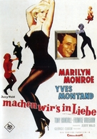 Let's Make Love - German Movie Poster (xs thumbnail)